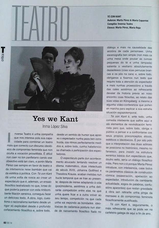 Yes we Kant